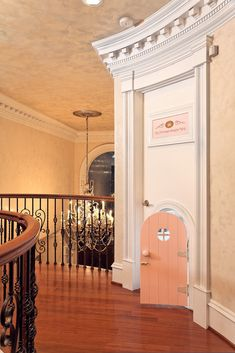 Princesses only! The entrance to a princess bedroom in Virginia designed by Dahlia Mahmood of Dahlia Designs . Dream Rooms, Dream Bedroom, Girls Bedroom, Magical Bedroom, Bedroom Ideas, Childs Bedroom, Nursery Ideas, Princess Bedrooms, Princess Room