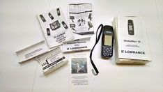 Lowrance GlobalNav 12 Handheld GPS Receiver With Instructions #Lowrance