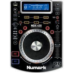 SPECIFICATIES NUMARK NDX-400:  De NDX400 is een geavanceerde scratch MP3/CD speler die ook nog eens muziek af kan spelen van een USB stick, voor geavanceerde prestaties. Numark's Anti-Shock™ gebufferde skip-bescherming zorgt ervoor dat de muziek blijft spelen, zelf wanneer trillingen andere spelers wel laten overslaan. Drie hot cues en een groot scratch jogwheel zorgen ervoor dat je nog meer creativiteit toe kan voegen.