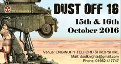 Dust Off 16 15th & 16th October 2016,