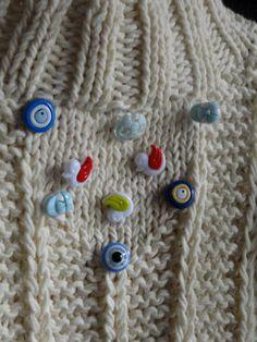Pull bébé tricotés à la main par MariyaMitov sur Etsy