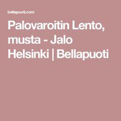 Palovaroitin Lento, musta - Jalo Helsinki | Bellapuoti