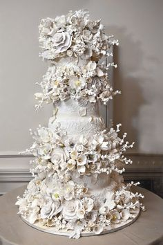 glorious wedding cake as only Sylvia Weinstock can create