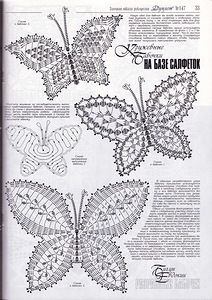 The best butterfly crochet pattern for your design Free Crochet Butterfly Patterns ⋆ Crochet Kingdom 77 With over 50 free crochet butterfly patterns to make you will never be bored again! Get your hooks out and let's crochet some butterflies! Filet Crochet, Freeform Crochet, Crochet Diagram, Crochet Chart, Thread Crochet, Crochet Motif, Crochet Doilies, Crochet Flowers, Crochet Lace
