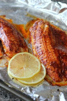 Smoked Paprika Butter Fish - a hint of honey