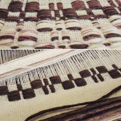 ☆weaving☆ #design #weaving #weave #loom #yarn #thread #création #grey #designtextile #tissage #fils #metiersdart