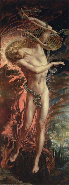 ✯ Orpheus :: Artist Jean Delville✯