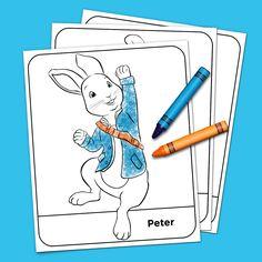 Peter Rabbit Coloring Pack