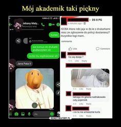 Very Funny Memes, Haha Funny, Funny Jokes, Hahaha Hahaha, Funny Lyrics, Polish Memes, Funny Mems, Dark Memes, Quality Memes
