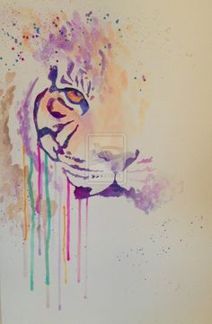 Watercolor Tiger by ryverstyxx on DeviantArt