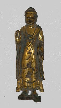 Statuette of Buddha Tang dynasty,8th cent. China
