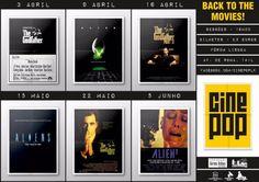 Cinepop: o cinema em ecrã grande, os grandes filmes dos 70, 80 e 90.