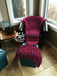 Ravelry: Bulky & Quick Mermaid Blanket pattern by MJ's Off The Hook Designs…
