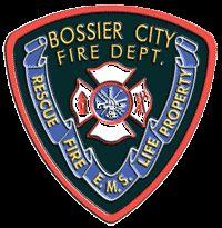Bossier City Fire Department Patch
