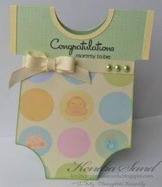 Luv 2 Scrap n' Make Cards: Baby Card