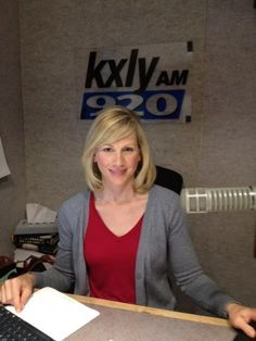 """KXLY 920's Kristi Gorenson will wear red on Fridays in support of our troops and their families! You can do it, too! Note her """"Cougar"""" color scheme! Yes...she is a COUG!    Share pics of your loved ones currently serving in the military (or those who have already served) by emailing them to wearredfriday@kxly.com.  We will post them here: http://www.kxly.com/spotlight/Wear-Red-Fridays/-/13483684/-/8gk52uz/-/index.html"""