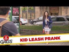 Kid Leash Prank - Funny Prank Videos - Joke King Funny Prank Videos, Funny Pranks, Just For Gags, Your Dog, Jokes, Youtube, Kids, Children, Chistes