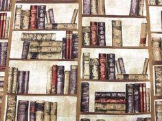 Dekostoff Bücherregal - Alle Dekostoffe - im Online-Shop günstig kaufen
