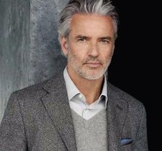 Cool haircuts for men Mens Grey Hairstyles, Popular Mens Hairstyles, 2015 Hairstyles, Funky Hairstyles, Medium Hairstyles, Formal Hairstyles, Cool Haircuts, Haircuts For Men, Men's Haircuts