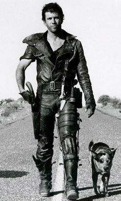 Mad max. Seriously two of my faves: young Mel Gibson and an Australian Cattle Dog.