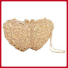 07eca6e8d5 Unze New Women 'Badden' Embellished Evening Wedding Party Bridesmaid Clutch  Bag - 08-