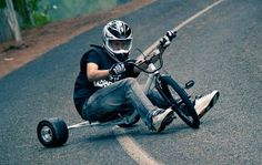 What is a drift trike and drift triking? Drift Trike, Tricycle, Bmx, Electric Kart, Baby Bicycle, Go Dog Go, Hell On Wheels, 3rd Wheel, Pedal Cars