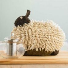 Sheep tea cosy @Enid Dage - Aberforth and Billy approve of their cousin's invitation to tea.