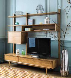 On adore ce joli meuble TV de Maisons du Monde ! Typique des années 50's, ce meuble est idéal pour donner un côté vintage à votre déco !