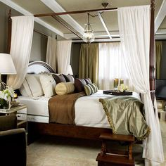Cream And Olive Green Colour Scheme Design Ideas, Pictures, Remodel, and Decor