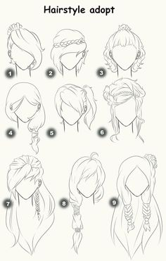 Cut Take Text Nullipara Girls Hairstyles How To Draw Manga Anime . - Cut Take Text Nullipara Girls Hairstyles How To Draw Manga Anime Hair # - Drawing Techniques, Drawing Tips, Drawing Sketches, Painting & Drawing, Drawing Ideas, Hair Styles Drawing, Girl Hair Drawing, Anime Hair Drawing, Drawing Style