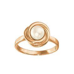 Золотое кольцо  12401RS http://topchasy.ru/index.php?route=product/product&product_id=175383  Price:  13 560.00 р.Кольцо с жемчугом. к серьгам 12400 и подвеске 12434,литье,жемчуг ф6мм. Материал: красное золото 585 пр. Средний вес: 3.8 гр..