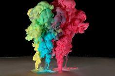 Liquid Flow – Liquid Drop Art by Corrie White