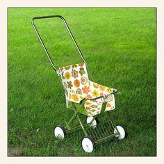 Vintage Baby Stroller - Groovy Hippie Baby. $75.00, via Etsy.