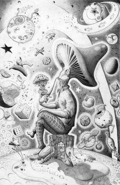 Nice stoner artwork - Buy SALVIA EXTRACT online at http://buysalviaextract.com/