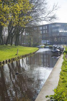 river Monnickendam, Holanda, Paises Bajos