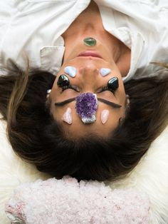 Crystal face masks and beauty dusts for your most radiant skin ever. #crystals