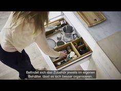 IKEA für kleine Räume: 7 m² Küche für die größten Rezepte - YouTube