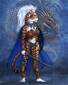 Bloodkin Tiger Dragon Spirit