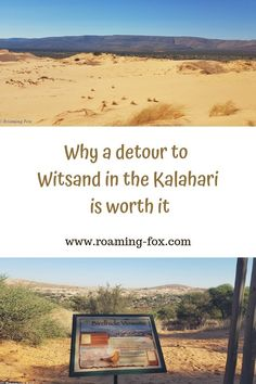In the midst of the arid red sands of the Kalahari there is an island of startling white dunes called Witsand or White Sand All About Africa, Road Trip Hacks, Road Trips, Brazil Travel, Cape Town South Africa, Travel Reviews, South America Travel, Africa Travel, Travel Goals