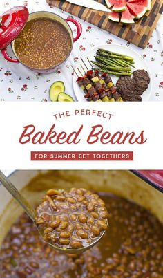 The Perfect Baked  Beans For Your Summer Get-Togethers