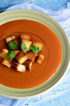 Supa crema de legume - CAIETUL CU RETETE Thai Red Curry, Soup, Vegan, Health, Ethnic Recipes, Cookies, Blog, Diet, Crack Crackers