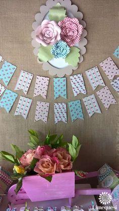 Dimequesi 's Birthday / Sarah Kay - Photo Gallery at Catch My Party Sarah Kay, Princesa Disney, Liberty, Birthday Parties, Shabby Chic, 18th, Baby Showers, Party Ideas, Key