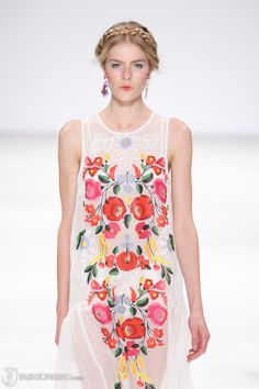 Alice McCall S/S '12- with hungarian folk motifs