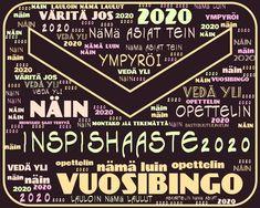 Inspiration: Inspishaaste2020 : Vuosibingo Chalkboard Quotes, Art Quotes, Inspiration, Biblical Inspiration, Inspirational, Inhalation