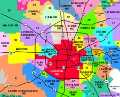 Map Of Neighborhoods In Houston Texas Great Maps Of Houston