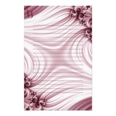 Stationery #stationery Pretty pink fractal. Silk imitation. You can add your monogram. Blurred lined area. Click on the product to customize it. #customized #personalized #artwork #sale #giftideas #zazzle #zazzlemade #deals #gifts #light #pink #burgundy #bordeaux #darkred #fractal #classic #elegant #feminine #girly #silk #pretty #gentle #abstract #pattern #name #monogram #text #copyspace #swirl #lined