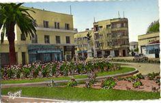 CPA Tunisie Bizerte Place (25709)