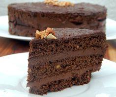 Chocolate Hazelnut Mousse Cake #Grain Free