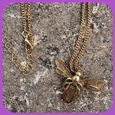 "✨HOST PICK✨SWEET SUMMER PENDANT NECKLACE ✨HOST PICK by @foxwish ""GIRLY GIRL""  PARTY 05/04/15✨Detailing is awesome on this Boutique pendant. Gold tone chain,  pendant can also be worn on a small omega style necklace. Perfect for Sumnmer, NWT Jewelry Necklaces"