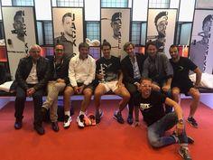 Celebrating after winning Madrid Open 2017
